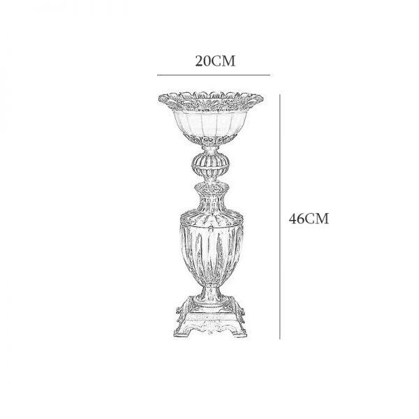 آباژور رومیزی چشمه نور مدل C2104/A آنتیک