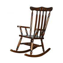 صندلی چوبی راک چشمه نور کد S-204/BR قهوه ای