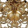 لوستر سقفی برنزی چشمه نور 3 شعله کد C2541/3-B برنز