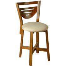 صندلی چوبی چشمه نور کد S-201/BR-CR کرم