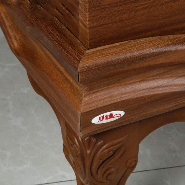 میز جلو مبلی چوبی چشمه نور کد D-119-BR