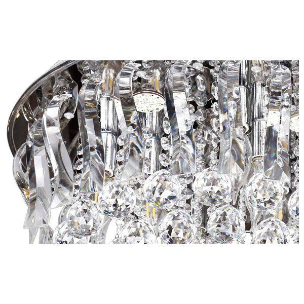 لوستر سقفی کریستالی چشمه نور کد A6638/50-S-C کروم