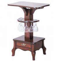 میز چوبی چشمه نور کد A-103-BR قهوه ای