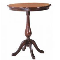 میز تلفن چوبی چشمه نور کد A-110-BR قهوه ای