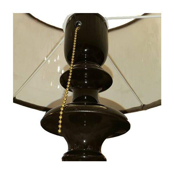 آباژور رومیزی چشمه نور مدل MT7006/F-WT شید سفید
