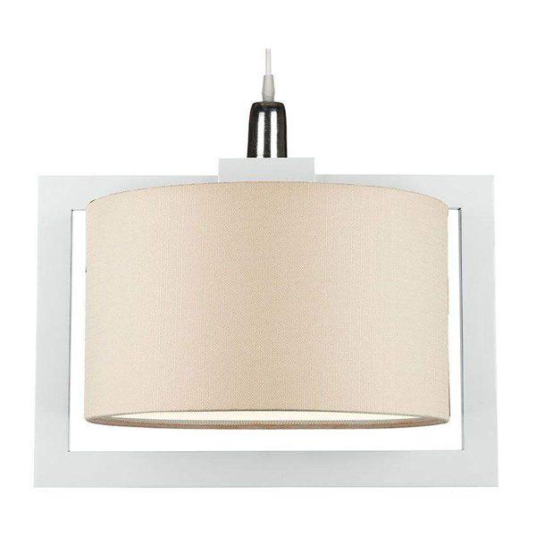 چراغ آویز چوبی چشمه نور کد A7061/1H-WT-MIX طرح دار