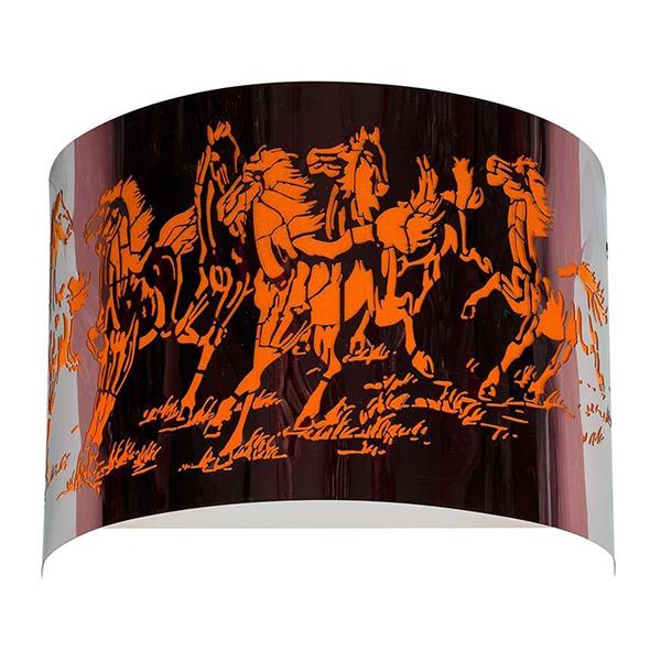 چراغ دیواری مدرن چشمه نور کد 8055OR نارنجی
