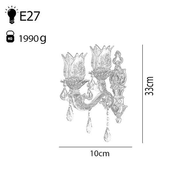 لوستر دایکاست 16 شعله چشمه نور مدل M3413/8-8-A آنتیک