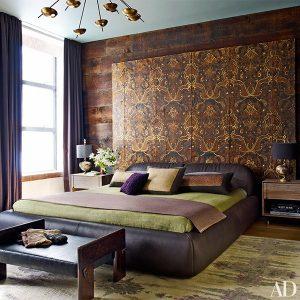 اتاق خواب منزل جان لجند و کریسی تیگن