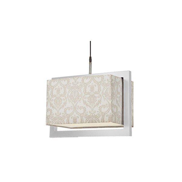 چراغ آویز چوبی چشمه نور کد A7039/1H-WT-MIX طرح دار