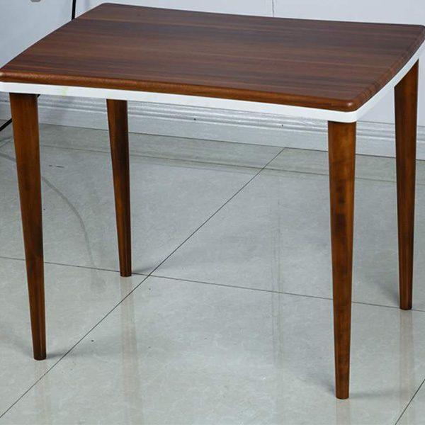 میز عسلی چوبی چشمه نور کد D-130-BR مجموعه 3 عددی