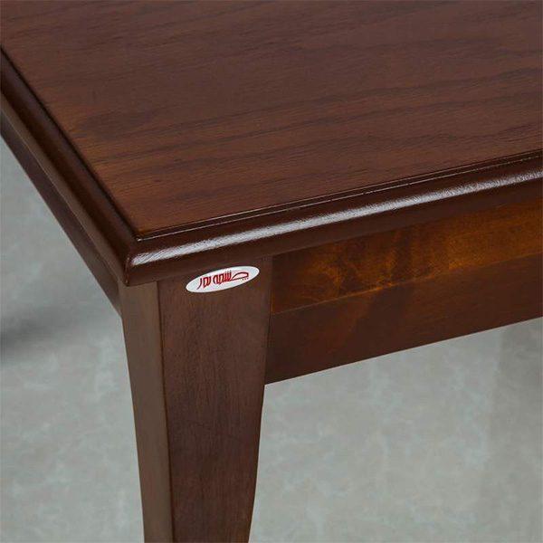 میز عسلی چوبی چشمه نور کد D-126-BR