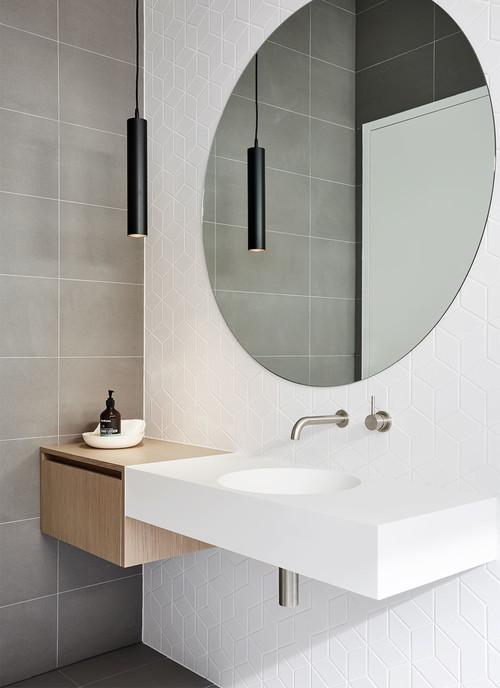 2 modern bathroom