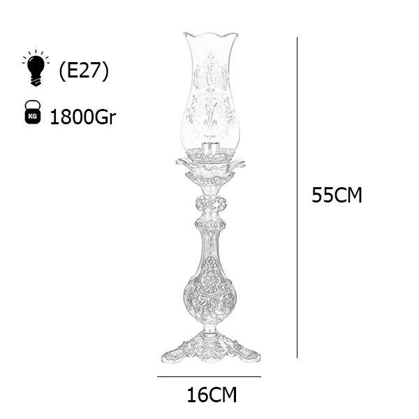 آباژور رومیزی چشمه نور مدل C2136-A