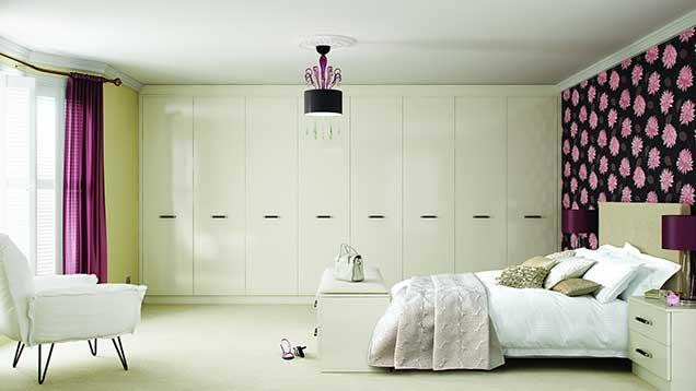 انتخاب کاغذ دیواری مناسب اتاق خواب