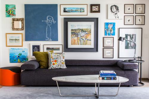 3 eclectic living room