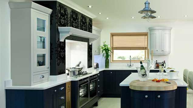 انتخاب کاغذ دیواری برای آشپزخانه