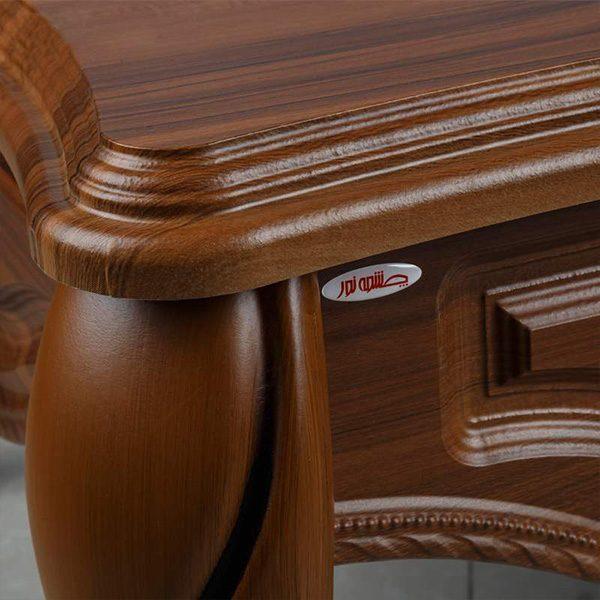 میز جلو مبلی چوبی چشمه نور کد D-123-BR