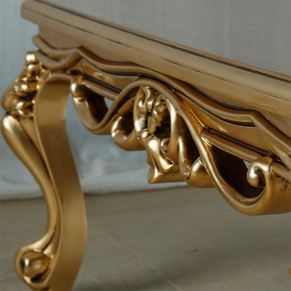 میز جلو مبلی چوبی چشمه نور کد M-401-WT