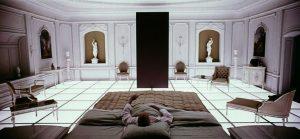 تغییر دکوراسیون در فیلم 2001: a space odyesy