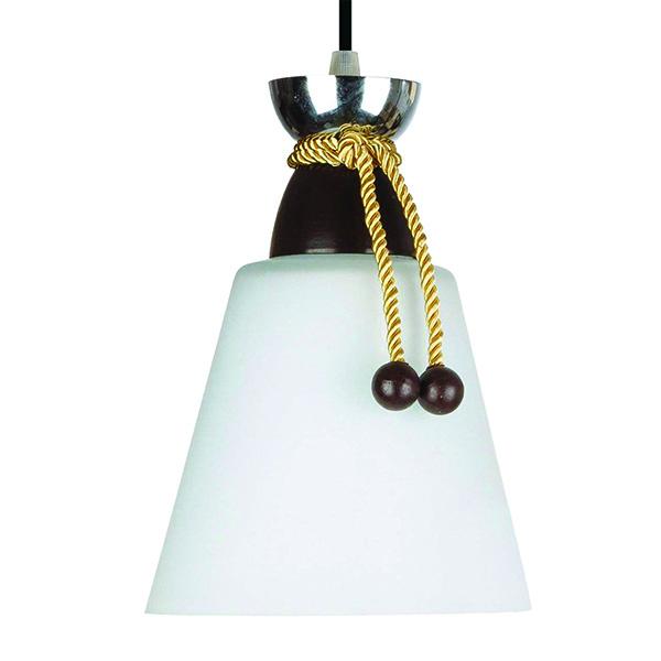 چراغ آویز فلزی و دایکاست چشمه نور کد A1276.1H