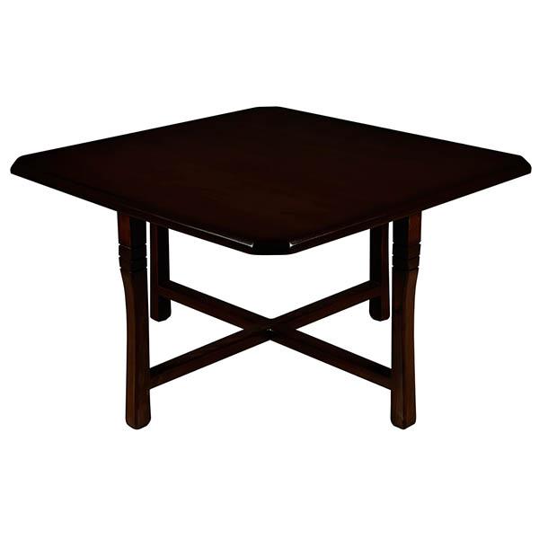 میز پذیرایی چوبی چشمه نور کد E-201-BR مجموعه 5 عددی