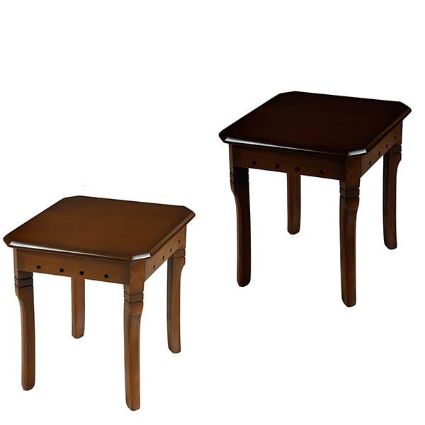 میز پذیرایی چوبی چشمه نور کد E-201-F مجموعه 5 عددی