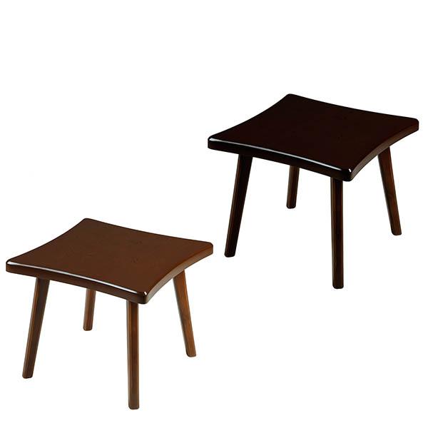 میز پذیرایی چوبی چشمه نور کد E-206-F مجموعه 3 عددی