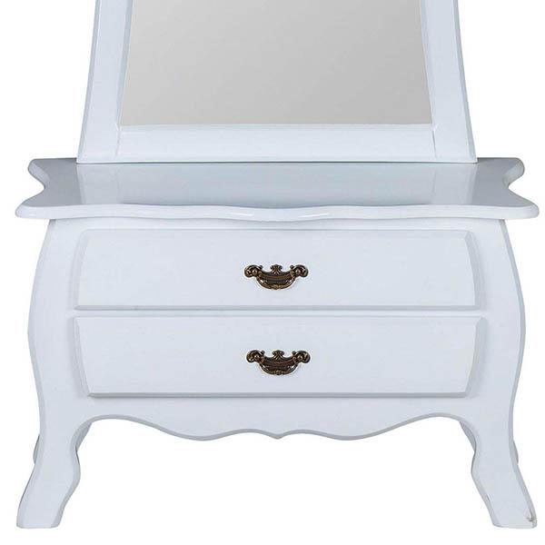 آینه و کنسول چوبی چشمه نور کد E-217.WT