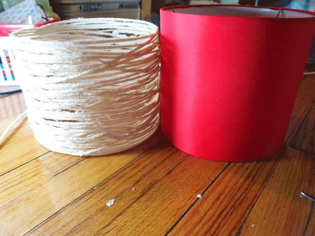 آباژور DIY از کاموا