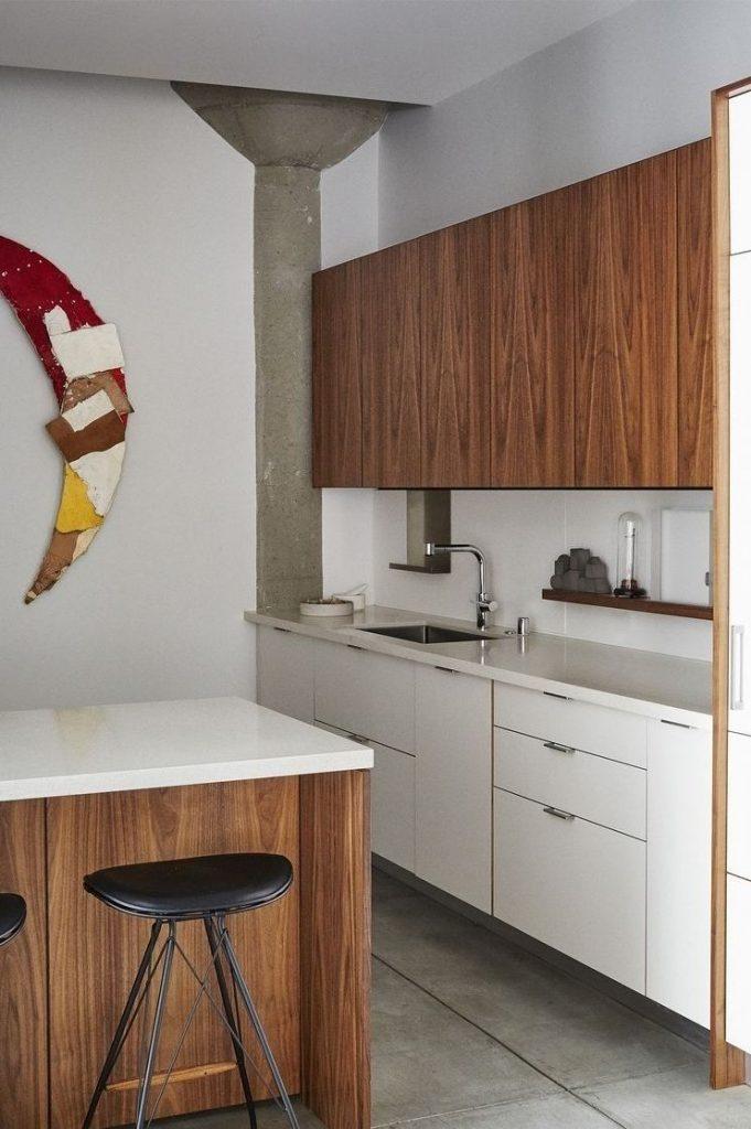 کابینت مدرن چوبی