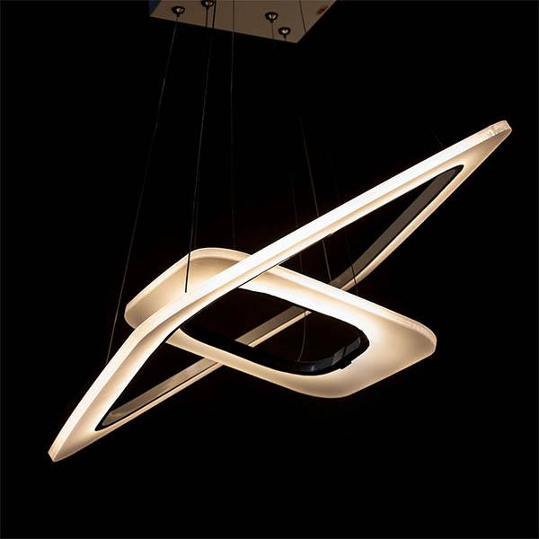 چراغ آویز SMD چشمه نور کد A6303/2H-WT ( ریموت دار )