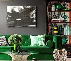 پالت رنگ سبز و طوسی