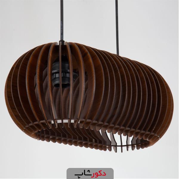 لوستر آویز چوبی ، انواع مدل ها به همراه راهنمای خرید