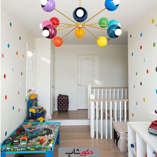 5 مدل لوستر اتاق کودک مخصوص پسر بچه ها