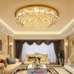 لوستر سقفی کریستال مخصوص خانه ایرانی