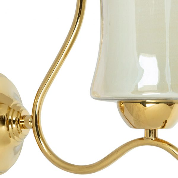 چراغ دیواری چشمه نور مدل A823/1W-G طلایی