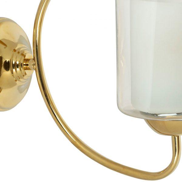 چراغ دیواری چشمه نور مدل A824/1W-G طلایی