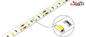 چراغ آویز چشمه نور کد N2661-45